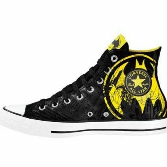 c555b8263770 Converse Shoes - CONVERSE DC COMICS BATMAN HI TOPS